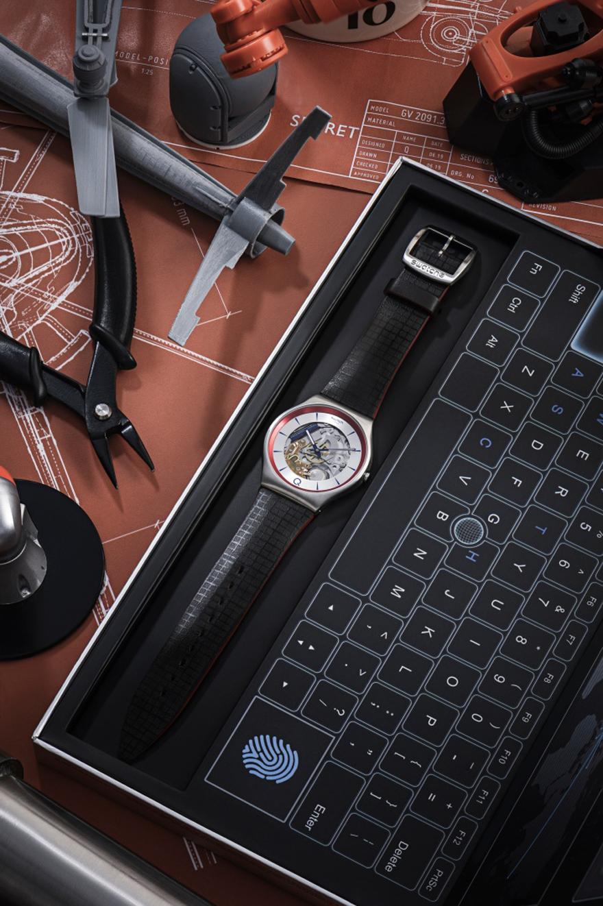 Η Swatch συνεχίζει τη μυστική της αποστολή για την ταινία No Time To Die.