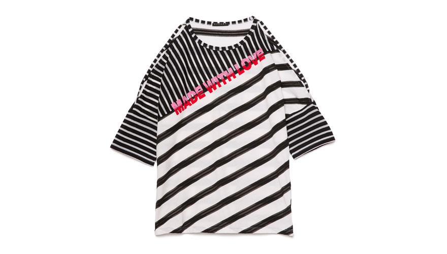 Sisley, φόρεμα t-shirt