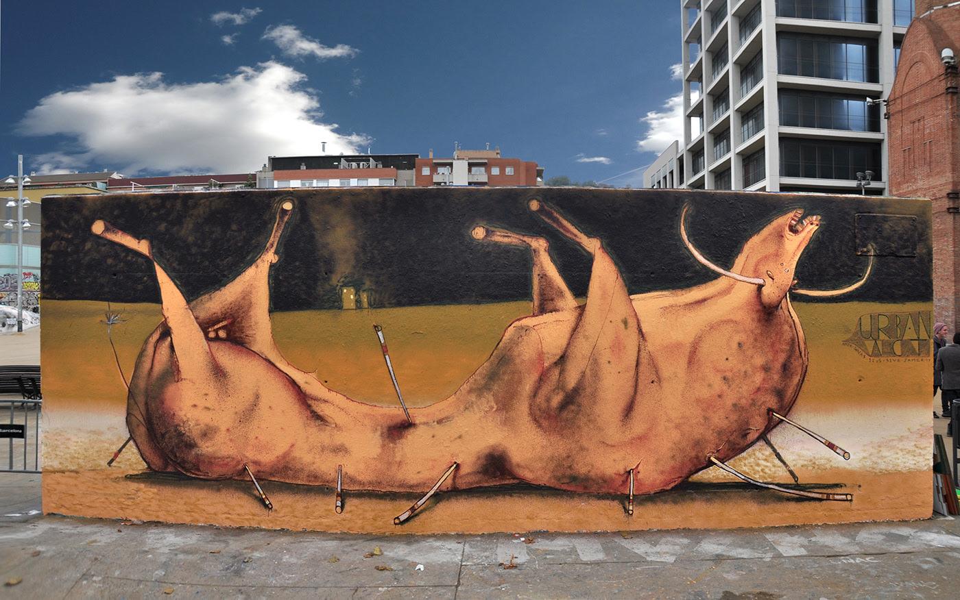 Σταμάτης Λάσκος - Street Artist