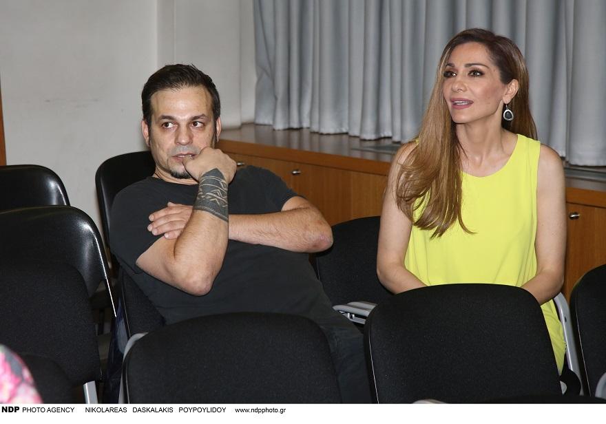 Η Δέσποινα Βανδή και ο Ντέμης Νικολαΐδης σε κοινή τους εμφάνιση