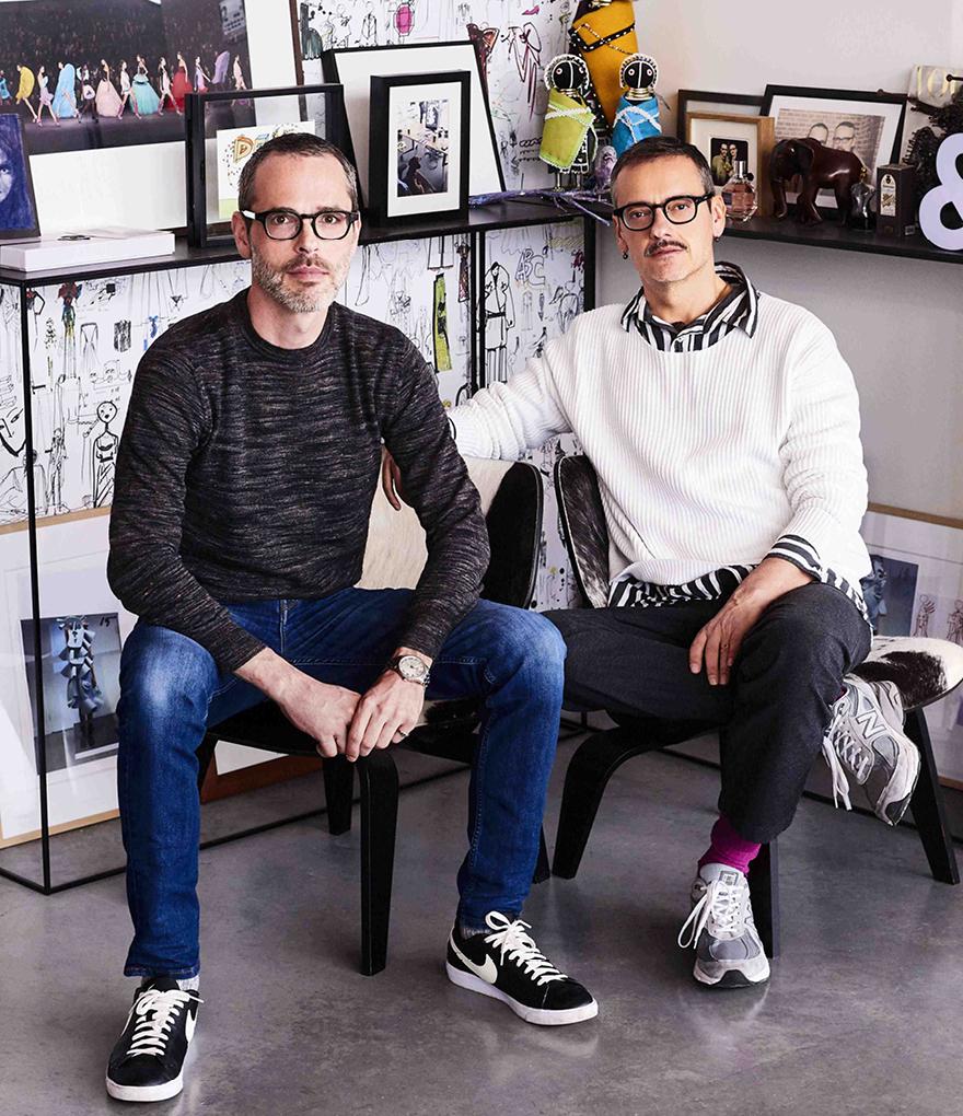 Viktor Horsting και Rolf Snoeren